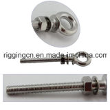 S 316 JIS Lag Eye Screw with Nut and Washer