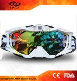 O capacete o mais atrasado do estilo compatível rasga cobre fora óculos de proteção da motocicleta