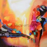 Handmade Abstract toile peintures art mural couteau pour la maison Décoration d'huile
