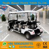 Zhongyi 6のシートの空港のための電気ゴルフカート