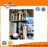 Un tornillo extrusora de película PE pequeño Film máquina sopladora