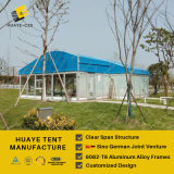 Beautiful Blue Roof Marquee Tent for Garden Party