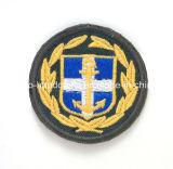 Kundenspezifischer Stickereiflecken Schulter Abzeichen für Militär und Polizei
