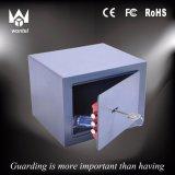 Piccola casella sicura di obbligazione, casella chiave dei contanti della serratura del metallo