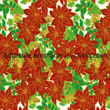 Natale Printed Cotton Fabric per Gift Packing