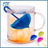 Silicone infuser le thé Le thé de café de la crépine Herb filtre vide