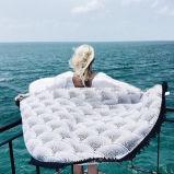 円形のRoundie浜の投球のタペストリー