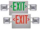조정가능한 쌍둥이는 결합 LED 출구 표시 & 비상등을 이끈다