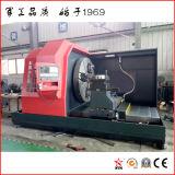 torno rotativo de metal para a usinagem de Moldes de Alumínio (CQ61125)