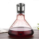 Vinho de Fábrica do decantador de cristal de definir conjunto decantador de Vinho Exportadores do decantador de vidro
