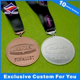 Medaille van de Medaille van de Spelen van de Vergadering van de sport de Duidelijke Acryl met Toekenning van de Medaille van de Druk van het Embleem de Zwemmende
