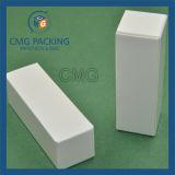 Caja de papel fino con el logotipo estampado en Bálsamo para
