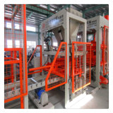 Bloc concret automatique faisant la machine avec la commande de PLC de Siemens