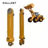 Cilindro ativo dobro do petróleo hidráulico para a máquina escavadora