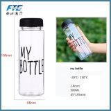 600ml pour l'eau potable transparente ma bouteille dans as/PC/Tritan