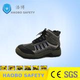 Pattini di lavoro di cuoio degli uomini delle calzature S1p di sicurezza di alta qualità con il prezzo basso della punta d'acciaio