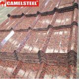 Materiale da costruzione delle lamiere di acciaio della galvanostegia