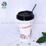 Copo de papel impresso cliente da espuma dobro da parede para o café