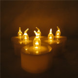 Fabrik-Preis-Batterie Powred flammenlose LED Tee-Licht-Kerze