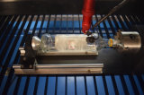 máquina de estaca do laser do CO2 da gravura do laser 3D para o couro de papel
