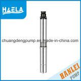 pompe de sous-marin de puits profond de la sortie solides solubles de fer de moulage de 0.37kw 3inch