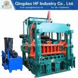 Halb automatischer stationärer Block, der Maschinen Qt4-20c den hydraulischen pflasternblock herstellt Maschine bildet