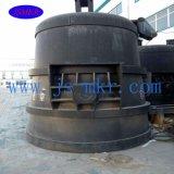 Usato 500 chilogrammi forno di fusione di induzione per media frequenza di 0.5 tonnellate
