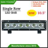 10,5 pouces 30W Classic Offroad barre lumineuse à LED Offroad phare de travail LED 4X4 LED feux de route