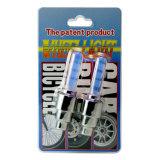 LEDの自転車のタイヤライトオートバイのバイクのパルブキャップ、弁帽のスポークの車輪ライト