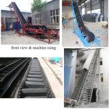 1000mm 벨트 폭 음식 또는 철 광석 또는 석탄 산업을%s 큰 각 벨트 콘베이어