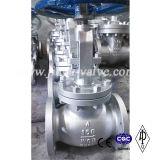 ANSI API 300lb la brida de acero inoxidable de la válvula de globo