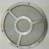 диск сетки матерчатого фильтра нержавеющей стали 304 316L