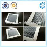 Filtre en aluminium de nid d'abeilles de substrat de nid d'abeilles en métal de filtre à air de Suzhou Beecore