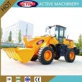 AL938C 3.5 ton cargadora de ruedas de gran tamaño y precio de fábrica con un potente rendimiento