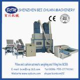 자동적인 베개 충전물 기계 (2 무게를 다는 시스템) (BC106)