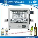Aceite de girasol de Cocción automática de la botella de líquido viscoso de llenado de llenado de embotellado