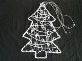 [لد] عيد ميلاد المسيح يشعل رقم موسيقيّة زاهية زخرفة ضوء