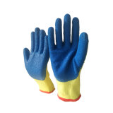 Knitting machine Gloves with Latex Coated for Garbage Collection