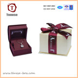 MDF Papelão Gift Packaging Blue Jewelry Box