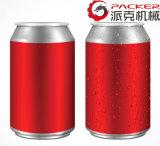 Garrafa de Enchimento de bebidas carbonatadas na linha de produção