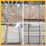 PolierBianco Carrara weiße Marmorfußboden-Fliese für Badezimmer u. Küche