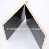 El negro de Linyi/la película de Brown hizo frente a la madera contrachapada para la construcción, madera contrachapada Shuttering concreta, material de construcción de madera