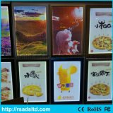 Menu Aluminium LED Menu Light Box pour restaurant