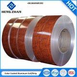 PE/PVDF 1100, 3003, 3004 Bobine en aluminium à revêtement de couleur pour l'obturateur du rouleau de bande