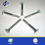 Болт с квадратным подголовком DIN603 стали углерода Galvanzied крепежных деталей RoHS/TUV
