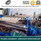 Zfq 1600 mm el papel de la línea de la máquina rebobinadora y cortadora longitudinal