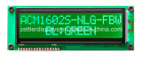 FSTN Negative 16 x 2 Character LCD Module mit Red LED Backlight: Acm1602s-Nlr-Fbw