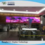 실내 P2 SMD 풀 컬러 LED 스크린 발광 다이오드 표시 위원회 LED 영상 벽