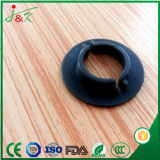 Peça preta do silicone para o selo de borracha eletrônico