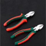 Pinces diagonales de découpage de traitement de Cr-v d'outils à main